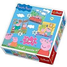 Trefl 3-in-1 Puzzle Peppa Pig