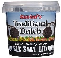 Gustaf\'s Double Salt Licorice - 7 oz