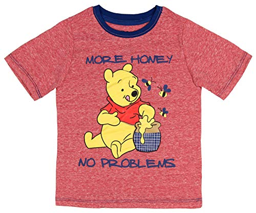 Disney Winnie The Pooh Little Boys' More Honey No Problems T-Shirt