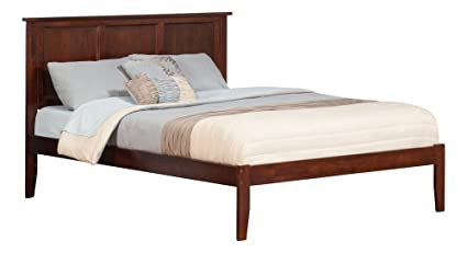 Amazon.com: Atlantic Furniture Madison Open Foot Bed, King, Antique on