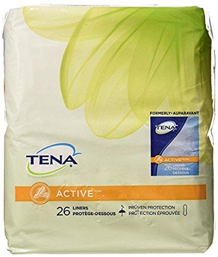 Tena Serenity Pantiliners, Regular Absorbency, 26-Count Packages (Pack of 6) by TENA (Pantiliners Serenity Tena Regular)