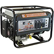 Dirty Hand Tools 101092, 5500 Running Watts/6500 Starting Watts, Gas Powered Portable Generator, EPA & CARB Compliant