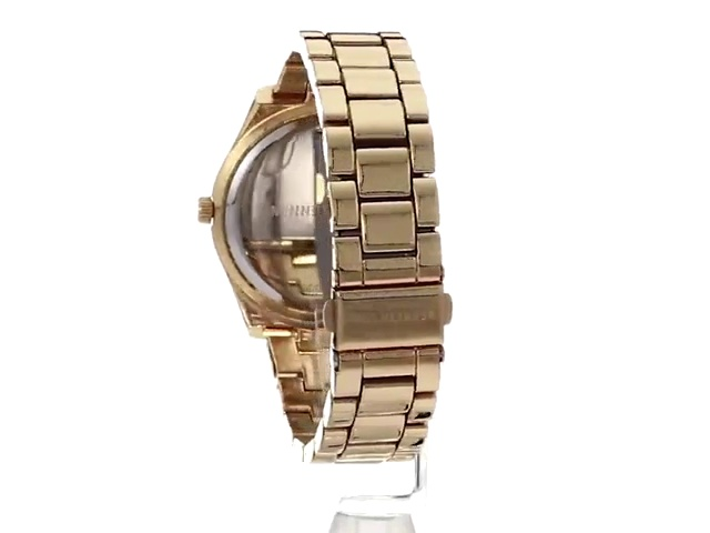 Kenneth Cole New York Women's Analog Quartz Stainless Steel Case Leather Strap/Stainless Steel Bracelet Casual Watch (Model:KC50739006/03)