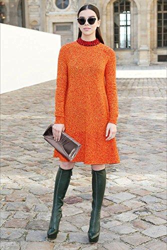 ANNA GRACE - Cartera de mano para mujer Design 1 - Grey
