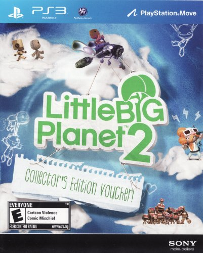 [LittleBigPlanet 2 Collector's Edition DLC Code Voucher] (Little Big Planet 2 Dlc Costumes)