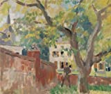 Oil Painting 'Rik Wouters - The Old Walnut Tree, 20th Century' 8 x 9 inch / 20 x 24 cm , on High Definition HD canvas prints is for Gifts And Basement, Game Room And Home Theater Decoration