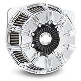 Arlen Ness 18-942 Chrome Inverted Series Air Cleaner Kit