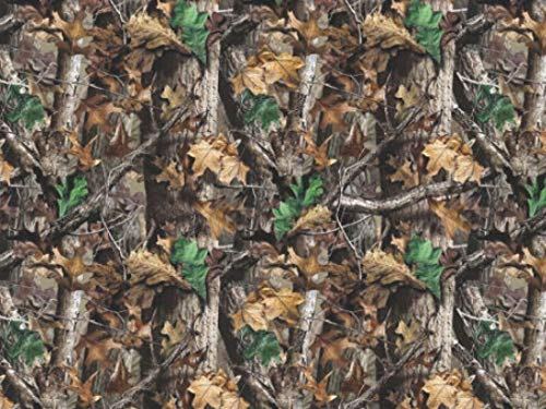 (REALTREE Xtra Green Camo Fabric 100% Cotton Fabric 60