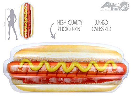 Review Large Inflatable Hotdog Sandwich
