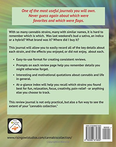 My Cannabis Collection: Strain Review Journal (The Cannabis