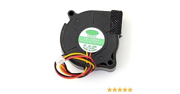 CF-12515 5015 50MM 5CM DC 12V 0.18A blower cooling fans cooler