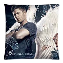 """2014 HOT Selling SUPERNATURAL Dean Winchester 18"""" Throw Pillow Cover Cushion Case - Two Sides"""