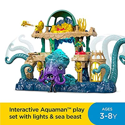 Fisher-Price Imaginext DC Super Friends, Aquaman Playset [ Exclusive]: Toys & Games