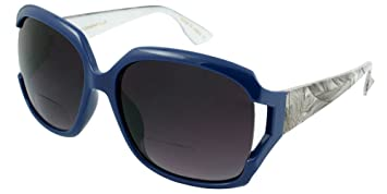 871e71ae66c Image Unavailable. Image not available for. Color  Edge I-Wear Women s  Oversized Bifocal Reading Sunglasses ...
