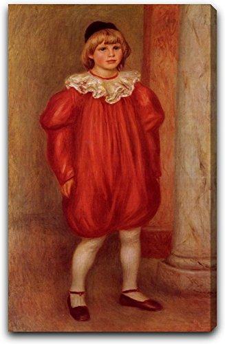 Auguste Clown Costume (The Clown also known as Claude Ranoir in Clown Costume by Pierre Auguste Renoir - 15