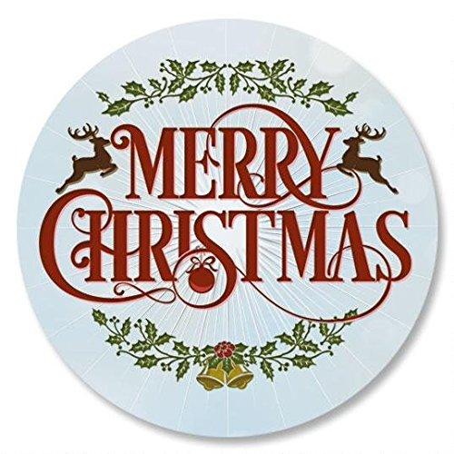 Merry Christmas Envelope Seals - Set of 72