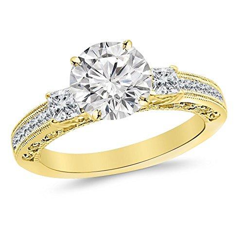 1.4 Ct Princess Diamond - 9