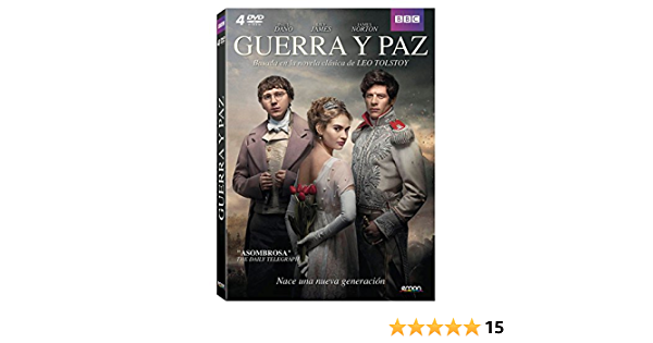 Guerra Y Paz Dvd Amazon Es Paul Dano James Norton Lily James Adrian Edmonson Jim Broadbent Stephen Rea Matthieu Kassovitz Gillian Anderson Brian Cox Tom Harper Paul Dano James Norton Cine Y Series
