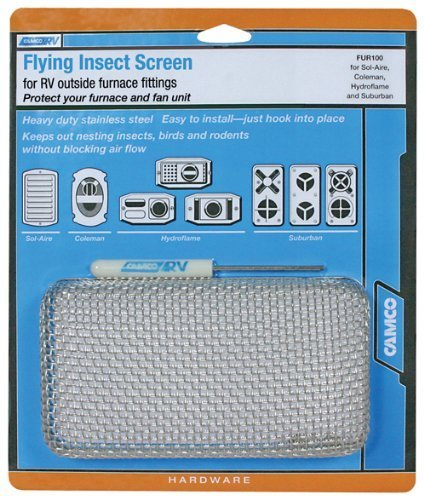 Camco 42140 Flying Insect Screen - FUR 100, Model: 42140, Outdoor&Repair Store by Hardware & Outdoor