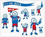 Siskiyou NFL Buffalo Bills Large Family Decal Set