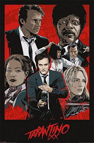 1 X Posters: Quentin Tarantino Poster - Tarantino Xx, One Sh