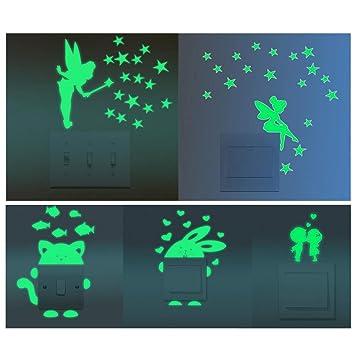 Fluoreszierend leuchtend Im Dunkeln leuchten Selbstklebend Band  E