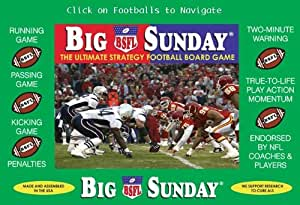 Big Sunday -- The Ultimate Strategy Football Board Game