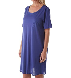Hanro Cotton Deluxe Short Sleeve Nightgown 77953
