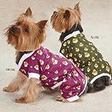 Monkey Business Dog Pajamas Size: Medium (16'' H x 11.5'' W x 0.25'' D), Style: Ty
