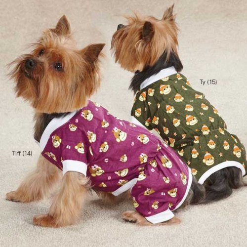 Monkey Business Dog Pajamas Size: Medium (16'' H x 11.5'' W x 0.25'' D), Style: Ty by East Side Collection (Image #7)