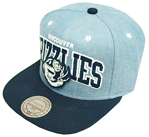 Mitchell Basecap Vancouver and EU182 Cap amp; Snapback Grizzlies Chambray Ness Arch UFrqUTn