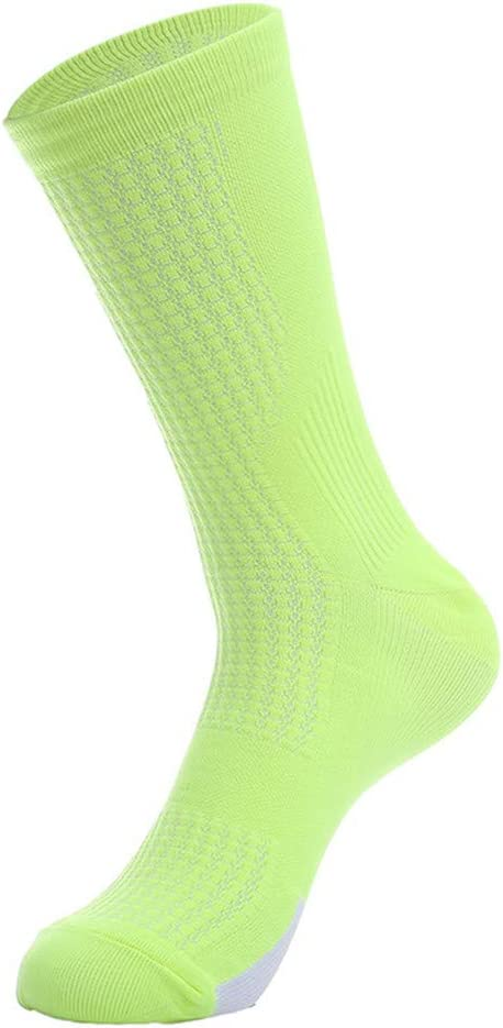 Compressprint Men and Women's Cycling Socks Sports Running Socks With Good Compression (Mixed color)