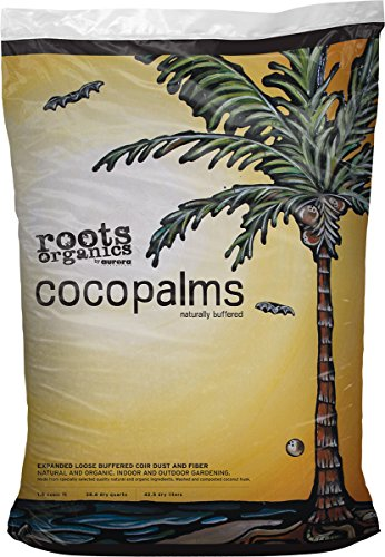 Coco Palms - Roots Organics ROCP Coco Palms for Soil, 1.5 cu. ft.
