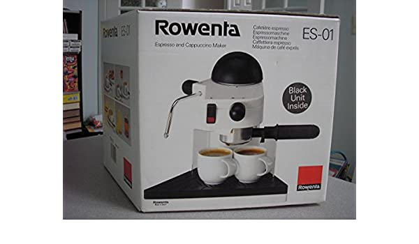 Amazon.com: Rowenta Espresso and Cappuccino Maker ES-01: Kitchen & Dining