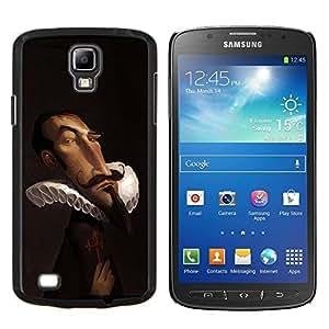 """Be-Star Único Patrón Plástico Duro Fundas Cover Cubre Hard Case Cover Para Samsung i9295 Galaxy S4 Active / i537 (NOT S4) ( Era Victoriana Marrón noble divertido"""" )"""