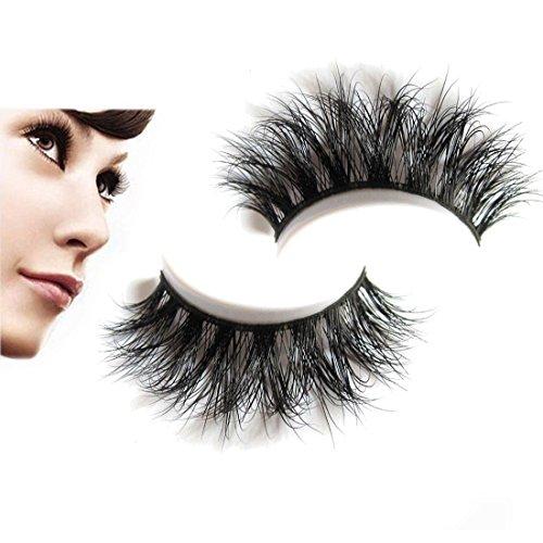 095226aff28 Nadula 3D Mink Fur Fake Eyelashes Voluminous Dramatic Looking Handmade  Reusable Eyelashes Mink False Eyelashes For