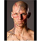Alex Pettyfer in Beastly as Kyle Kingson with Tattoo's Covering Face 8 X 10 Inch Photo