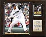 MLB Felix Hernandez Seattle Mariners Player Plaque