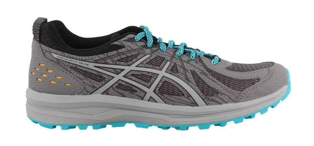 ASICS Women's Frequent Trail Running Shoe B07884LBDC 12 B(M) US|Carbon/Stone Grey