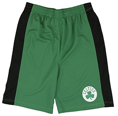 Boston Celtics NBA Little Boys and Big Boys Team Shorts - Green (2XL (18))