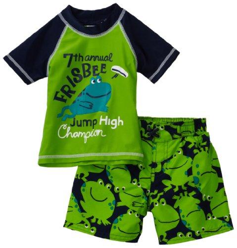 Carter's Baby Boys' Frog Rash Guard