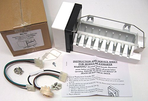 IM943 Refrigerator Icemaker for Whirlpool Kenmore Kitchenaid Roper 626633 626636 by Exac