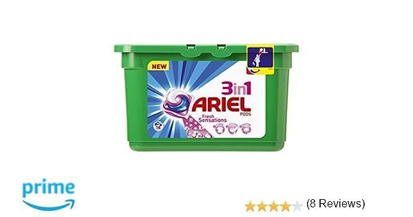 Ariel Cápsulas de Detergente 3 en 1 - 14 Unidades: Amazon.es ...