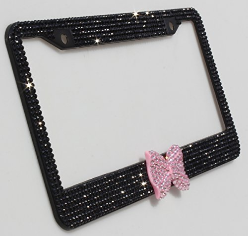 cute black license plate frames - 9