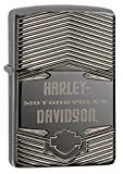 Zippo Harley-Davidson Logo 1903 High Polish Pocket Lighter, Black