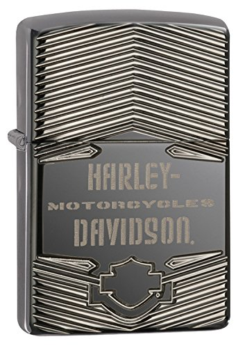 Zippo Harley Davidson Polish Pocket Lighter product image