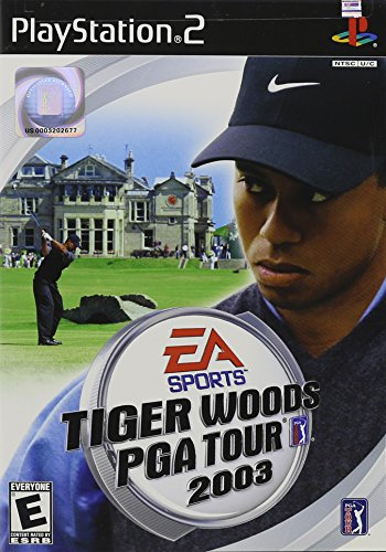 Tiger Woods PGA Tour 2003 (Tiger Playstation Console)