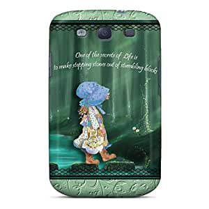 Unique Design Galaxy S3 Durable Tpu Case Cover Stepping Stones