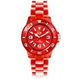Icewatch Kids' ICEWATCH-SD-RD-U-P-12 Solid Red Plastic Watch