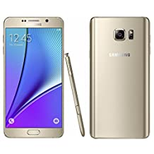 Samsung Galaxy Note 5 SM-N920A 32GB Android Unlocked Smartphone (Gold)